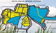 Peta Desa Jebed Utara