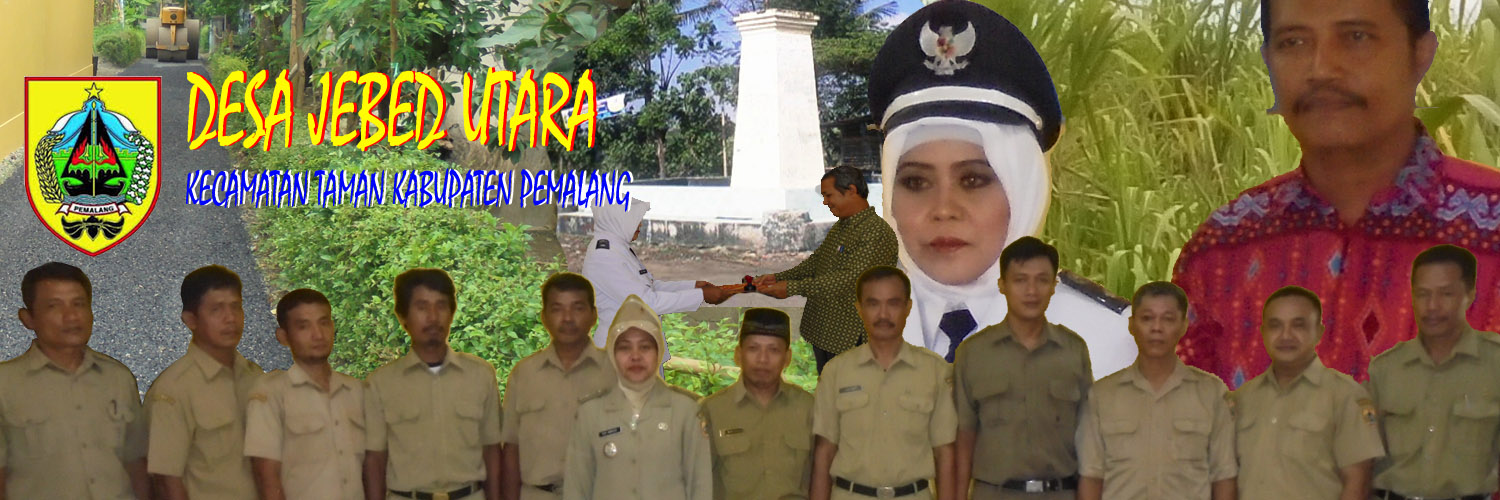 Website Desa Jebed Utara